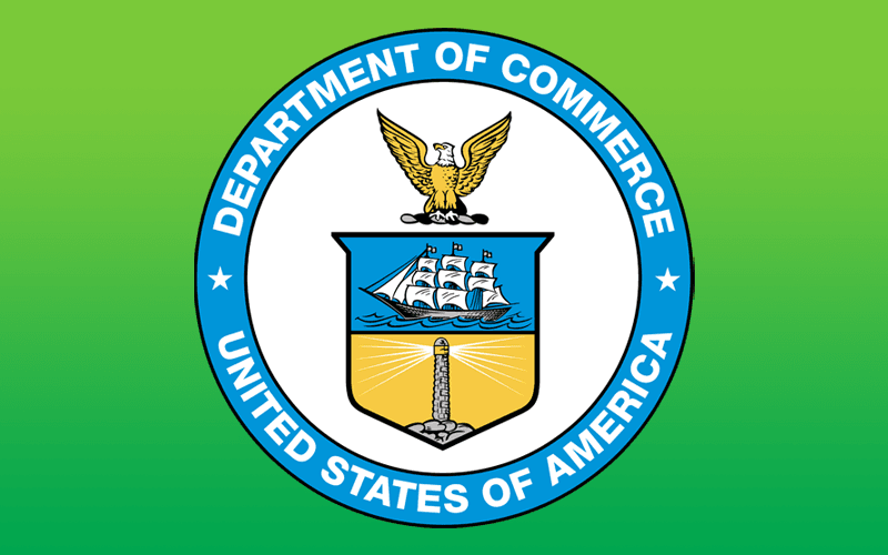 Letter to Dept. of Commerce in opposition to the imposition of duties on imports of solar products